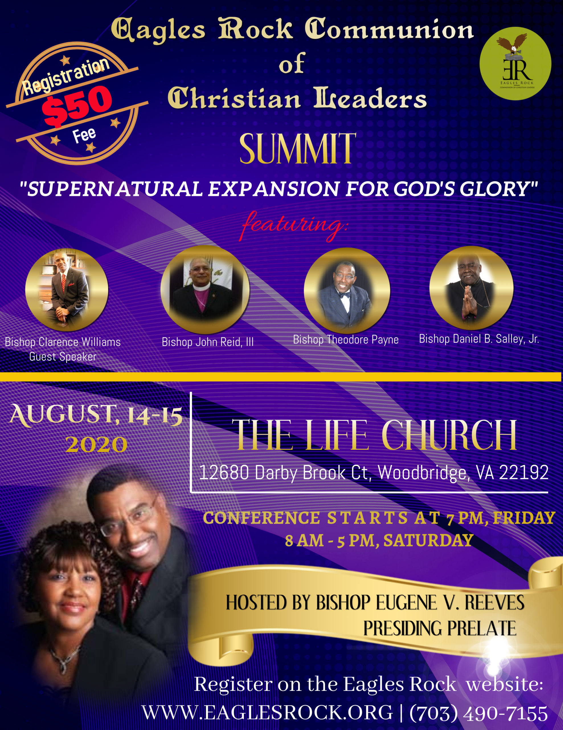 Eagles Rock Communion of Christian Leaders SUMMIT 2020